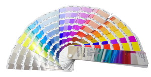 Pantone Colour Match Cards