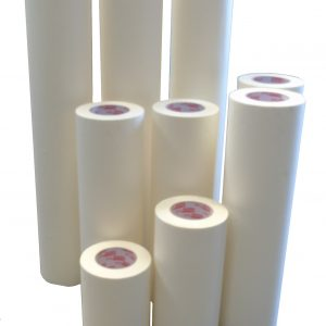 Platen paper great for protecting screen printing platens and easy to remove